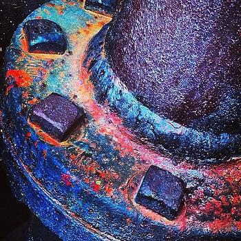 #flaming_rust #rsa_rust #rustlord by Robert Price