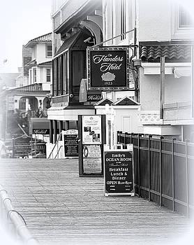 Flander's Hotel Ocean City NJ by Mary Beth Landis