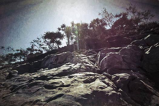 Flare Rock by Chris Hood