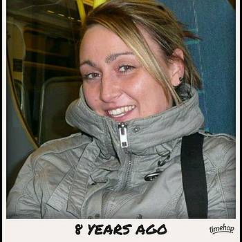 #flashbackfriday Still On A Train But by Natalie Anne