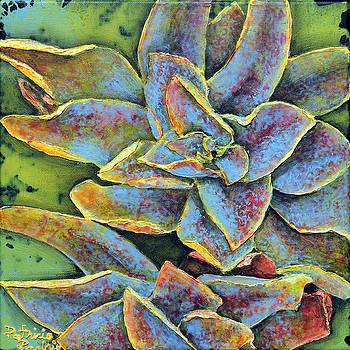 Flashy Succulent by Patricia Pasbrig