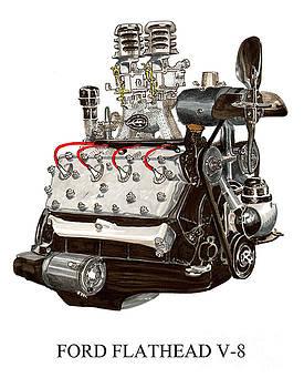 Jack Pumphrey - FLAT HEAD V 8 ENGINE