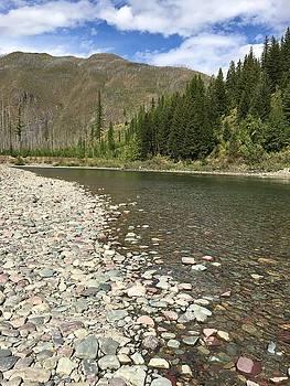 Flathead River, Montana by Jen Lynn Arnold