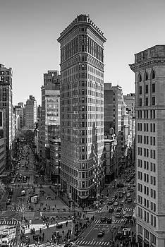 Flatiron Building, Elevated Study 2 by Randy Lemoine