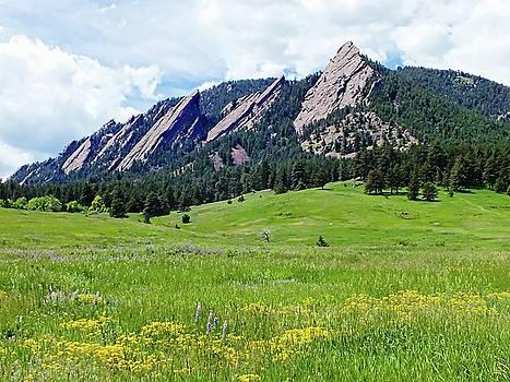 Flatirons of Boulder, Colorado by Joseph Hendrix