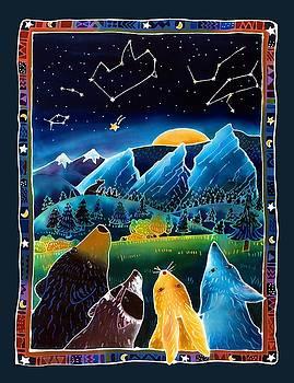 Flatirons Stargazing by Harriet Peck Taylor