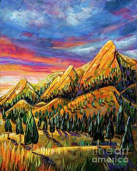 Harriet Peck Taylor - Flatirons Sunrise