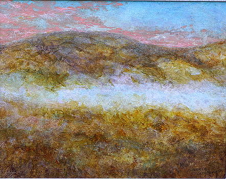 Flats Mountain Sun rise by Jackie Langford