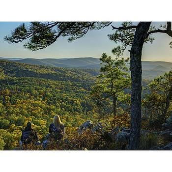 Flatside Pinnacle, Ouachita National by David Dedman