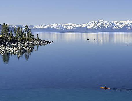 FlatWater Kayak by Martin Gollery