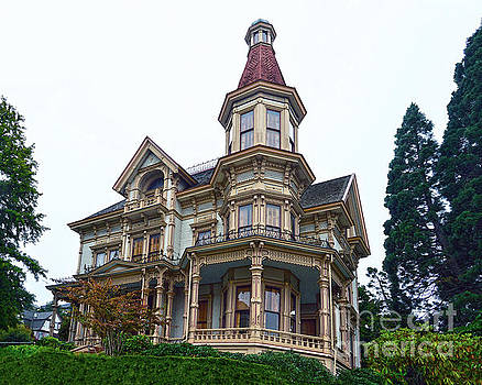 Flavel House, Astoria, Oregon by Catherine Sherman