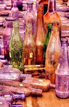 Flea Market Bottles by Roger McBee