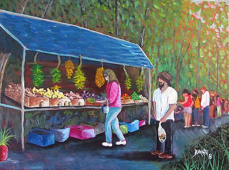 Flea Market by Gloria E Barreto-Rodriguez