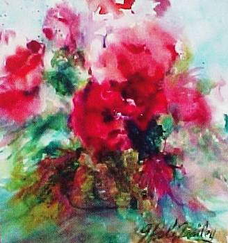 Fleurs Fusion in a Basket by Therese Fowler-Bailey