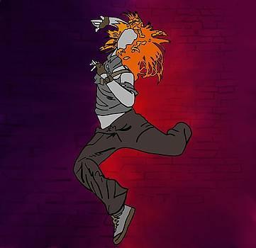 Flight of Orange by M Blaze Wolenski