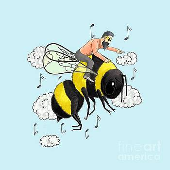 Flight of the Bumblebee by Nicolai Rimsky Korsakov by Cesar Padilla