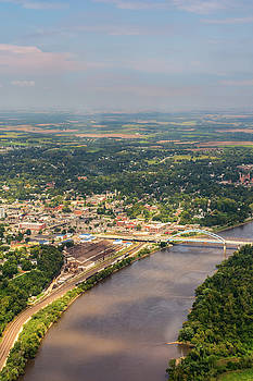 Flight over Atchison by Mark McDaniel
