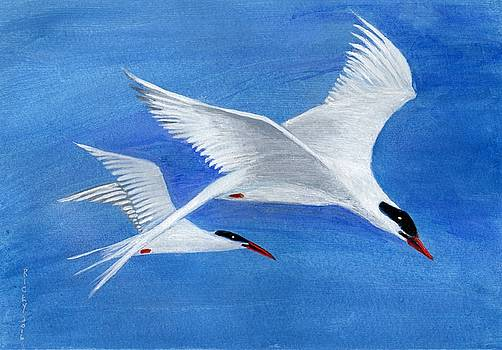 Flight - painting by Veronica Rickard