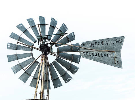 Flint and Walling windmill by Gary Warnimont