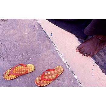 Flip Flops - Stone Town - by Steve Outram