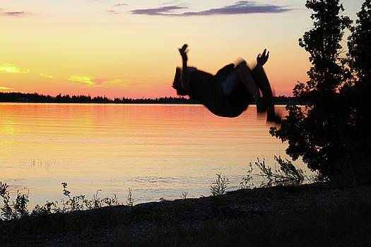 Flips at Sunset by Kelly Hazel