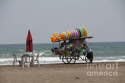 Floaties Veracruz Mexico by Linda Queally