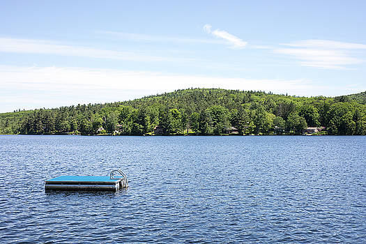 Floating Dock on Harrisville Lake by New England Photographic Arts