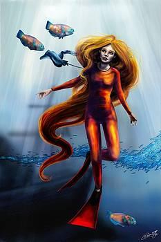 Floating by Hannah Starrett Wright