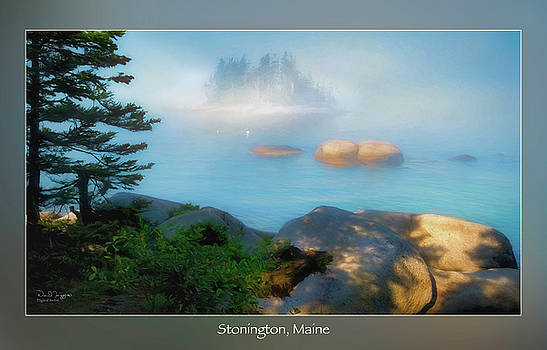 Floating Island #2, Sand Beach, Stonington, Maine by Dave Higgins