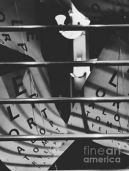 Jenny Revitz Soper - Floating Letters