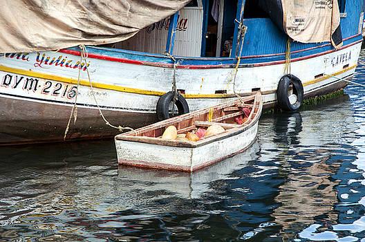 Floating Market by Allen Carroll