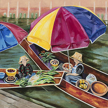 Floating Market by Kimberly Lavelle