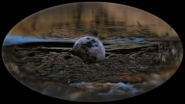 Floating Moon by Philip A Swiderski Jr