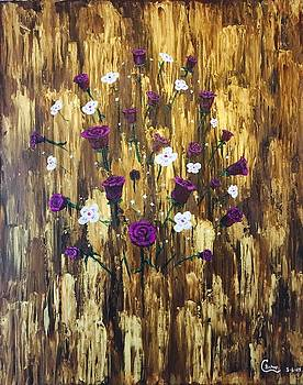 Floating Royal Roses by Chris Bishop