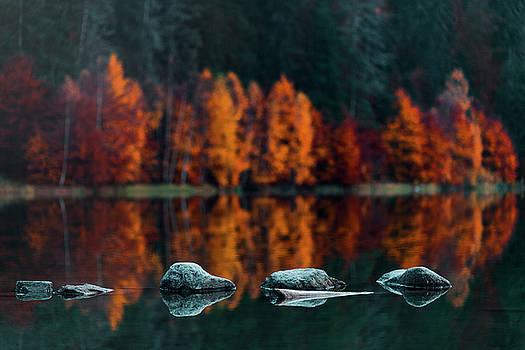 Floating stones by Chris Thodd