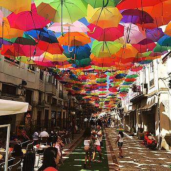 Floating Umbrellas 2016 by Alexandre Martins