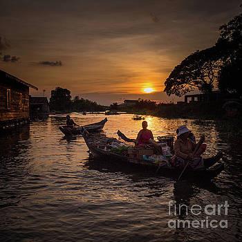 Floating Village Cambodia by Darren Wilch