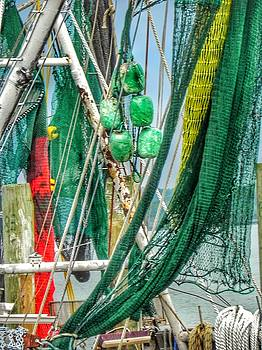 Floats Ropes and Nets by Patricia Greer
