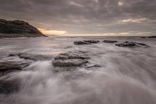 Flood tide at dawn by Niall Whelan
