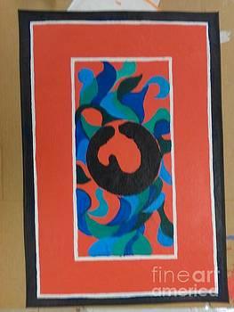 Floor Cloth E - SOLD by Judith Espinoza