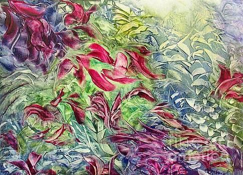 Flora Fun 10x14 by Vivian Haberfeld