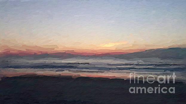 Florada Beach Sunrise by Anthony Fishburne