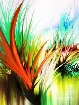 Abstract Grass Series 2 by ElsaDe Paintings