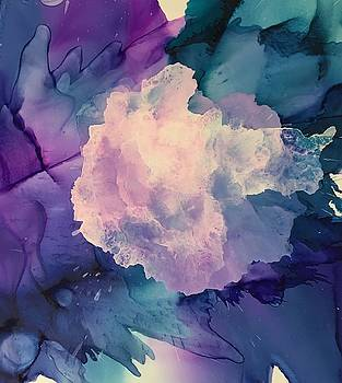 Floral abstract by Suzanne Canner
