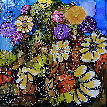 Floral Boquet by Suzanne Canner
