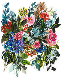 Floral bouquet 03-2017 by Garima Srivastava