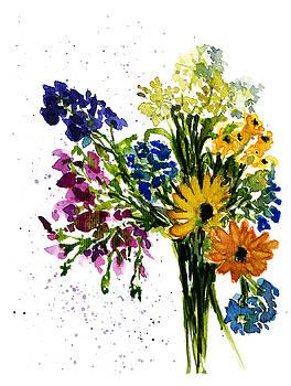 Floral bouquet 04-2017 by Garima Srivastava