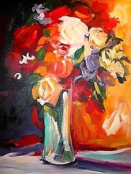 Floral burst by Heather Roddy