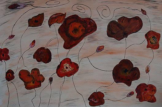 Floral Carpet by Iancau Crina