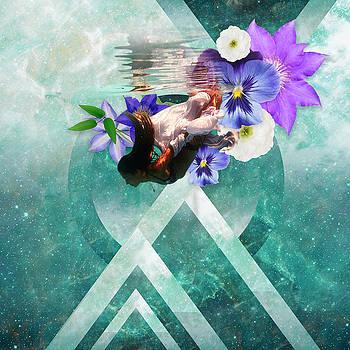 Floral Dimension  by Lori Menna